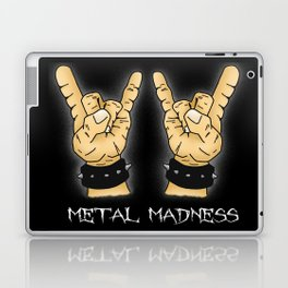 Metal Madness Horns Laptop & iPad Skin
