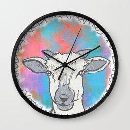 Sheep Spot Wall Clock