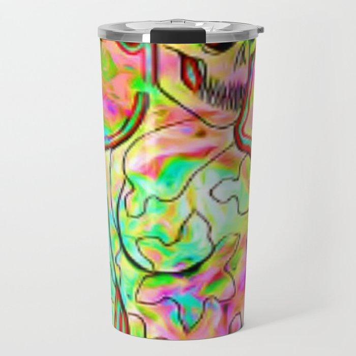 Psychedellic Galaxy Travel Mug