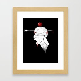 Practice Makes Perfect Framed Art Print