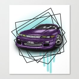 Nissan S13 Silvia Canvas Print