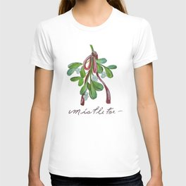 Under  the Mistletoe botanical  T-shirt