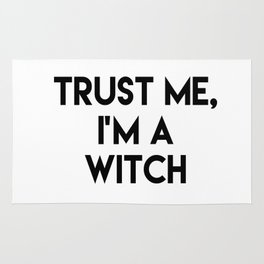 Trust me I'm a witch Rug