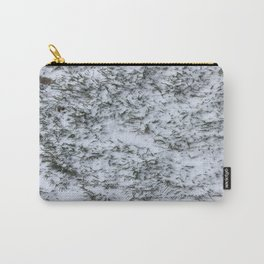 Snowy Grass Carry-All Pouch