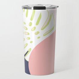 Spring Monstera #society6 #spring Travel Mug