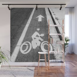 Pavement Biking Wall Mural