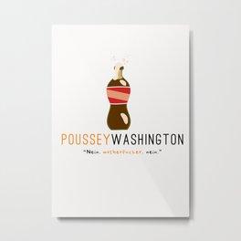 Poussey (White) | Nein | OITNB Metal Print