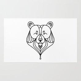 Black Bear Two Rug