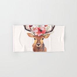 Bohemian Deer Hand & Bath Towel
