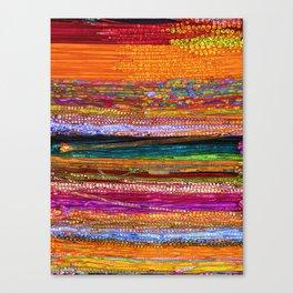 Indian Colors Canvas Print