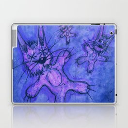 Record Cover for some Jazzed Rabbits, Blueish. Laptop & iPad Skin