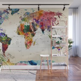 map Wall Mural