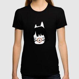 「a cat throne.」 T-shirt
