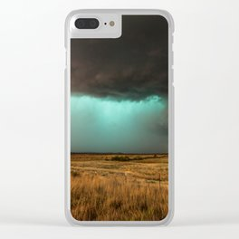 Jewel of the Plains - Storm in Texas Clear iPhone Case