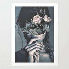 inner garden Art Print