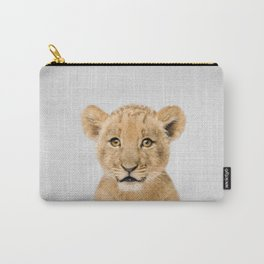 Baby Lion - Colorful Carry-All Pouch
