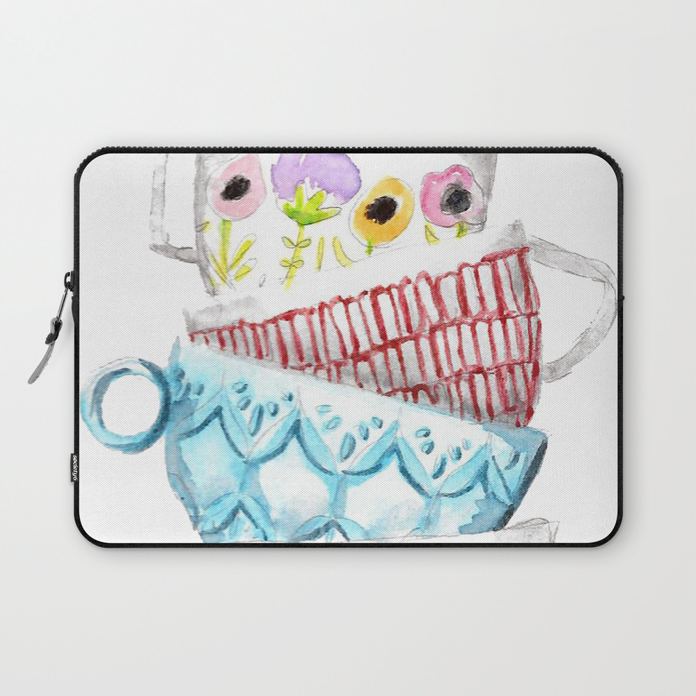 Cups On Cups On Cups Laptop Sleeve LSV8656197