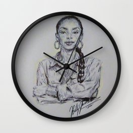 Smooth Operator Wall Clock