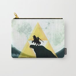 The Horse Of Triforce Carry-All Pouch