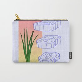 scallion cross section graphic Carry-All Pouch