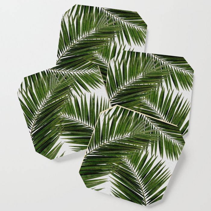 Palm Leaf III Coaster