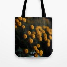 mustard yellow flowers Tote Bag