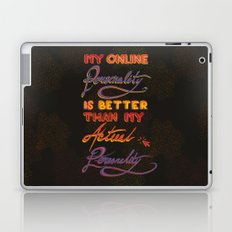 Online Personality Laptop & iPad Skin