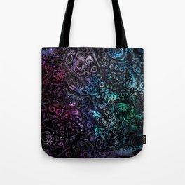 Octopus Galaxy Tote Bag