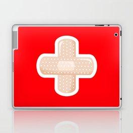 First Aid Plaster Laptop & iPad Skin