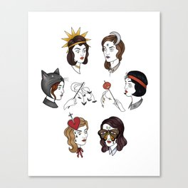 Little Spooks Canvas Print