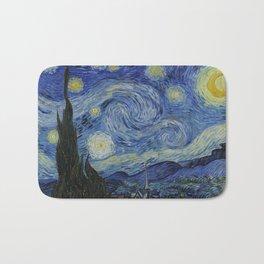 The Starry Night Bath Mat