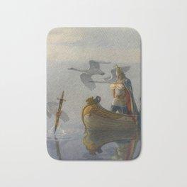 King Arthur and Excalibur Bath Mat