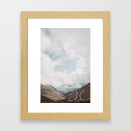 Rolling in the Deep Argentinian North Framed Art Print