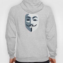 Anonymous Mask #society6 #decor #buyart #artprint Hoody