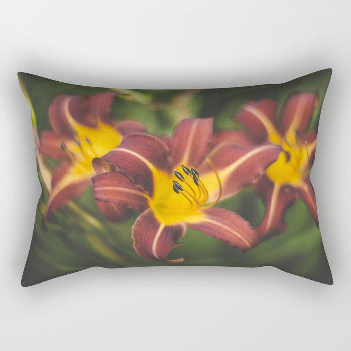 Daylilies Rectangular Pillow