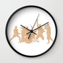Band Aids Wall Clock