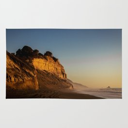 Golden Cliff Rug