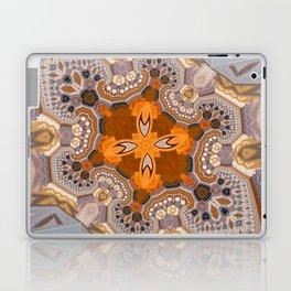 Abstract autumn with artistic mushrooms Laptop & iPad Skin