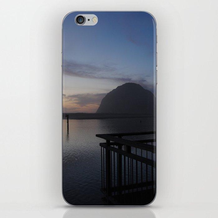 Morro Bay sunset iPhone Skin