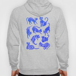 Cat Positions – Blue Palette Hoody