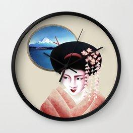 The Geisha Wall Clock