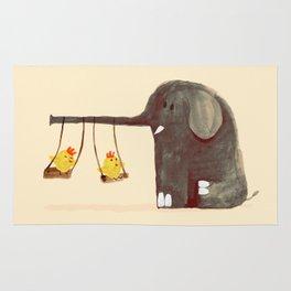 Elephant Swing Rug