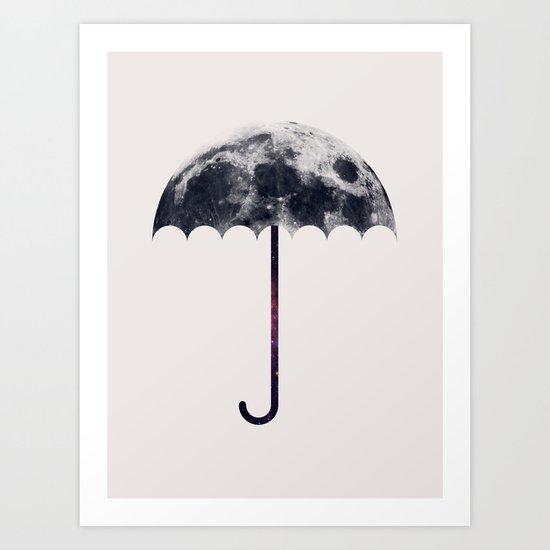 Space Umbrella II Art Print