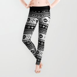 Ugly Sweater Society6 Leggings