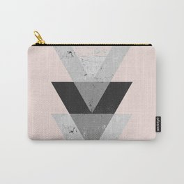 Inverted triangle geometric pattern Carry-All Pouch