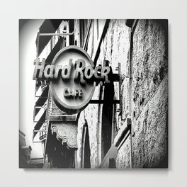 Hard-Rock-Cafe Metal Print