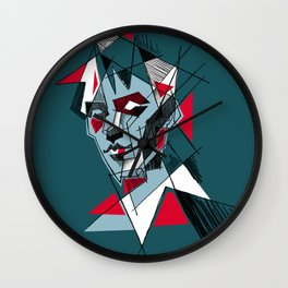 peter murphy 1 Wall Clock