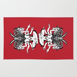 Woman is a Devil Rug