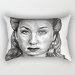 Double Indemnity Rectangular Pillow