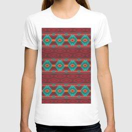 Southwestern navajo tribal pattern. T-shirt